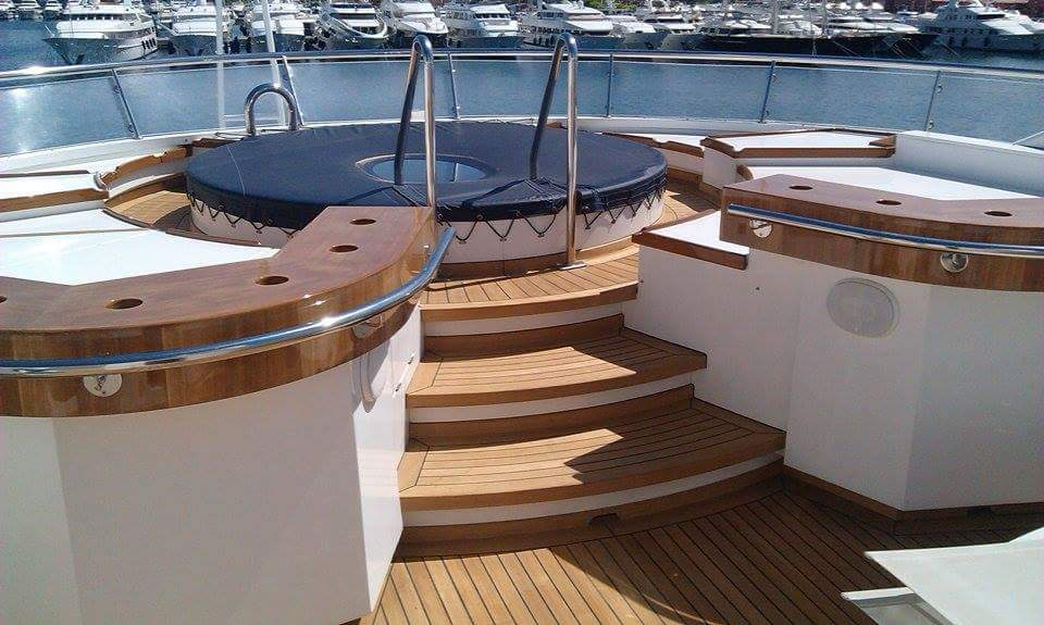 exterior design and construction yacht